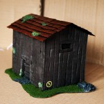Wargame Scenery Barn - In a box!