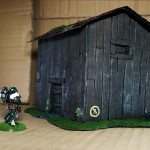 Wargame scenery barn - Anyone in there?