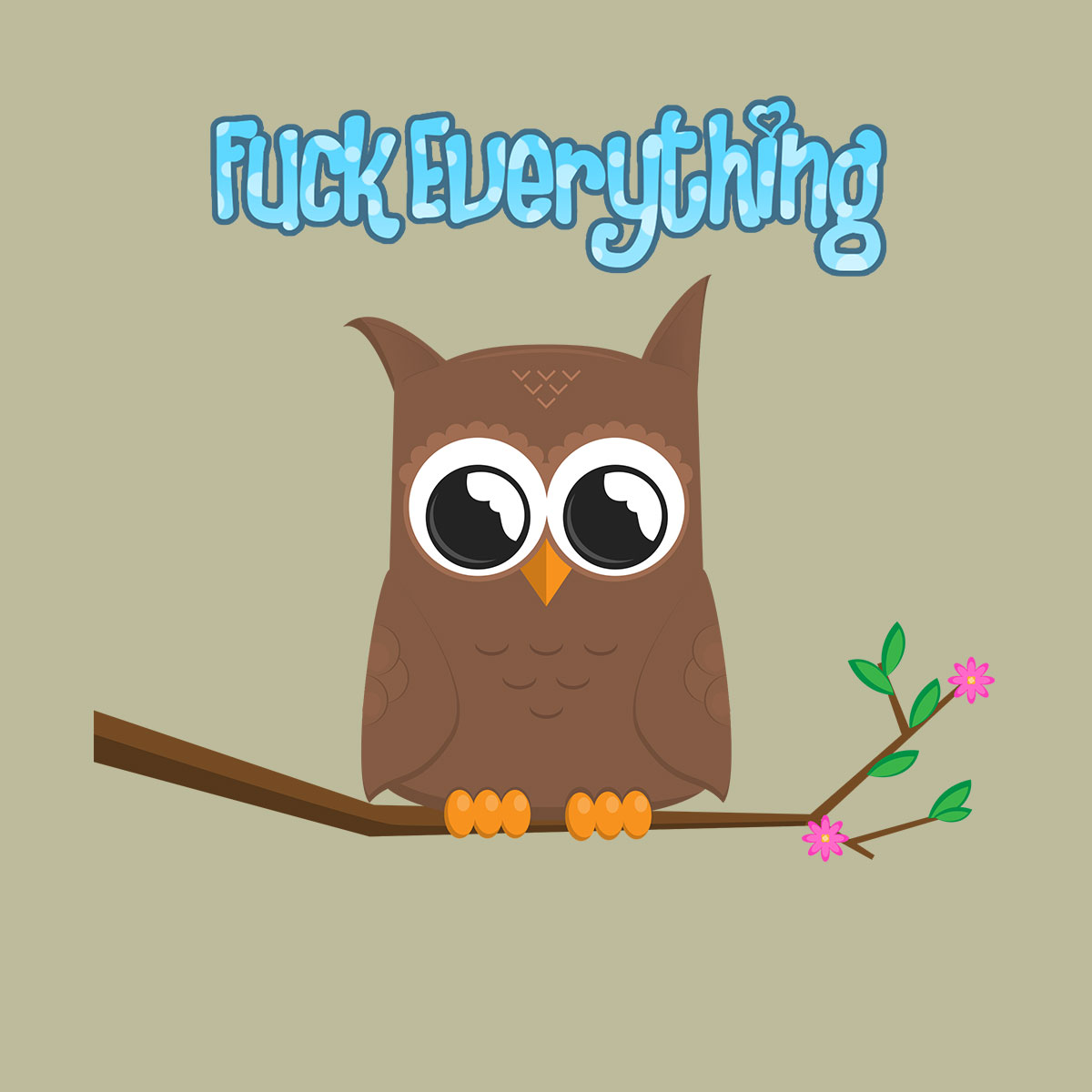 Exasperated Tiny Owl