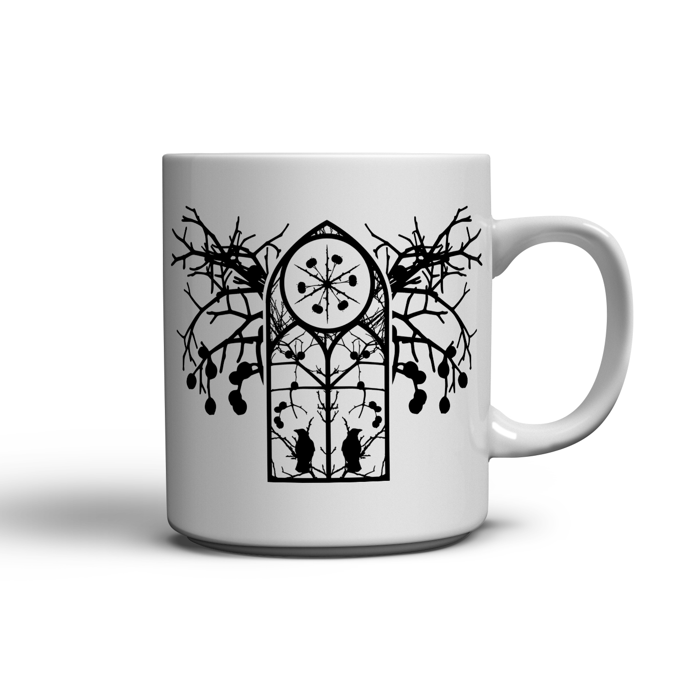 Forest Shrine T-Shirt and Mug